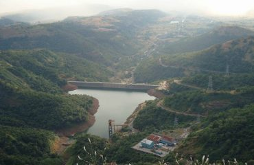 Top View of Nilwande Dam