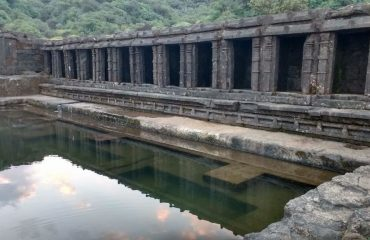 Pond on Harishchandragad