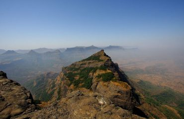 top view Of Harishchandragad