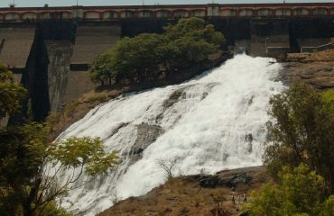 Side View of Umbrella Falls Bhandardara