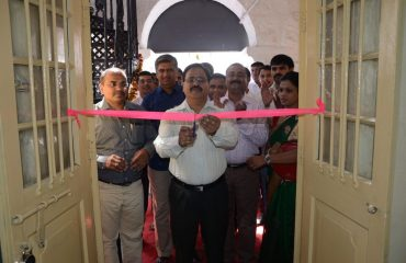 Library Opening by hands of Collector