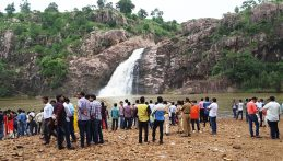 Hazra Fall With Tourist