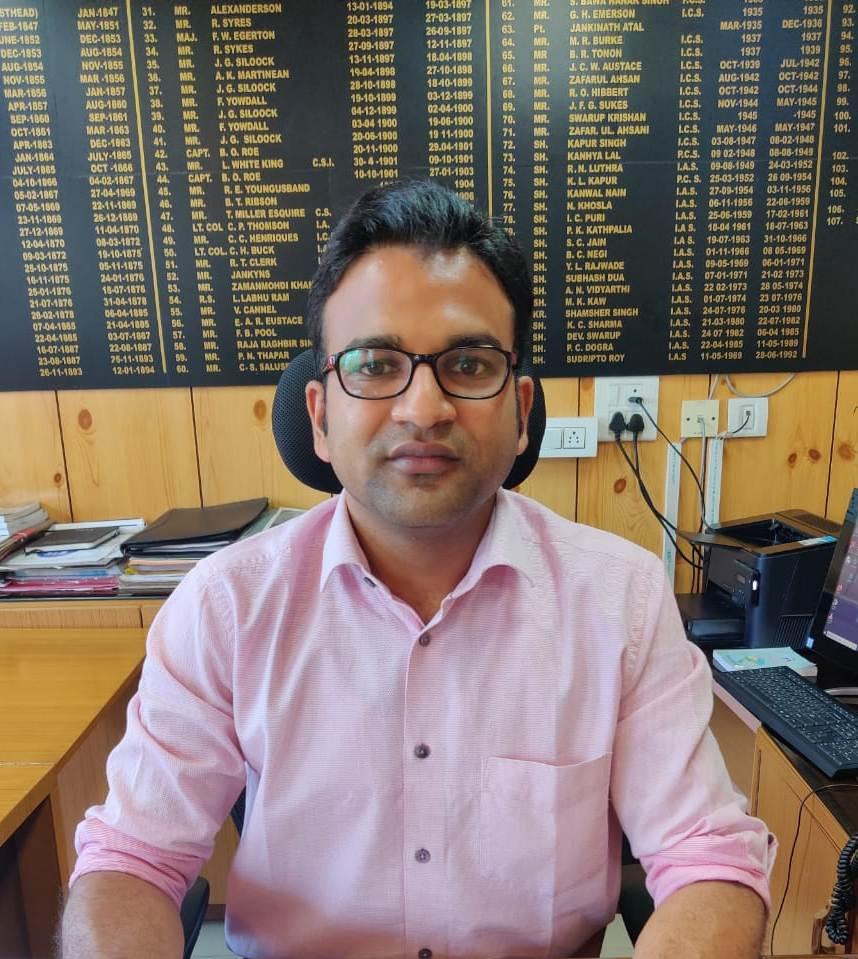 Dr. Nipun Jindal DC Kangra