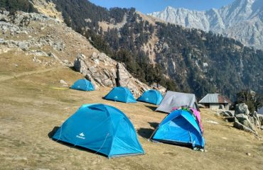 Beautiful view of Triund