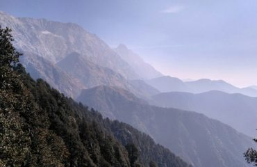 View from Triund
