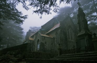 Side view of Church Mcleodganj