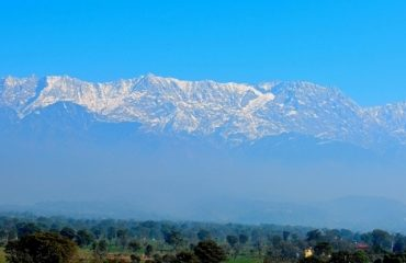 View of Dhauladhar Ranges