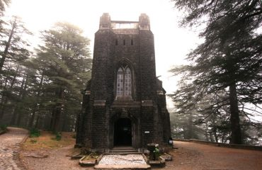 Front view of Church Mcleodganj