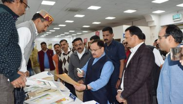 JP Nadda In Kangra Painting Exhibition Gagal