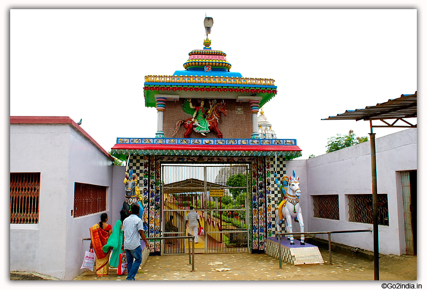 Bhairabi Temple Main Gate