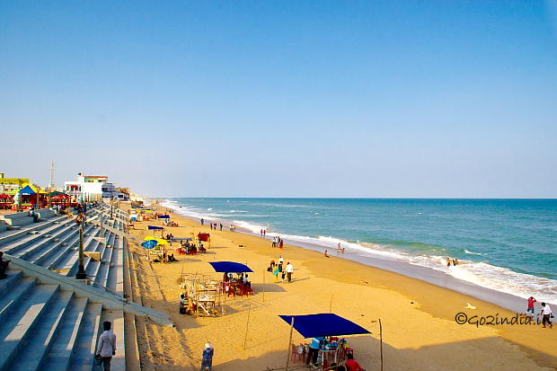gopalpur beach view