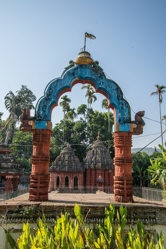 Nirmal Jhar Temple Mandap