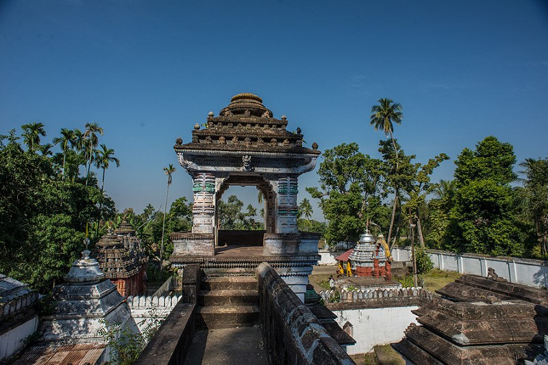 Nirmal Jhar Temple Terrace View