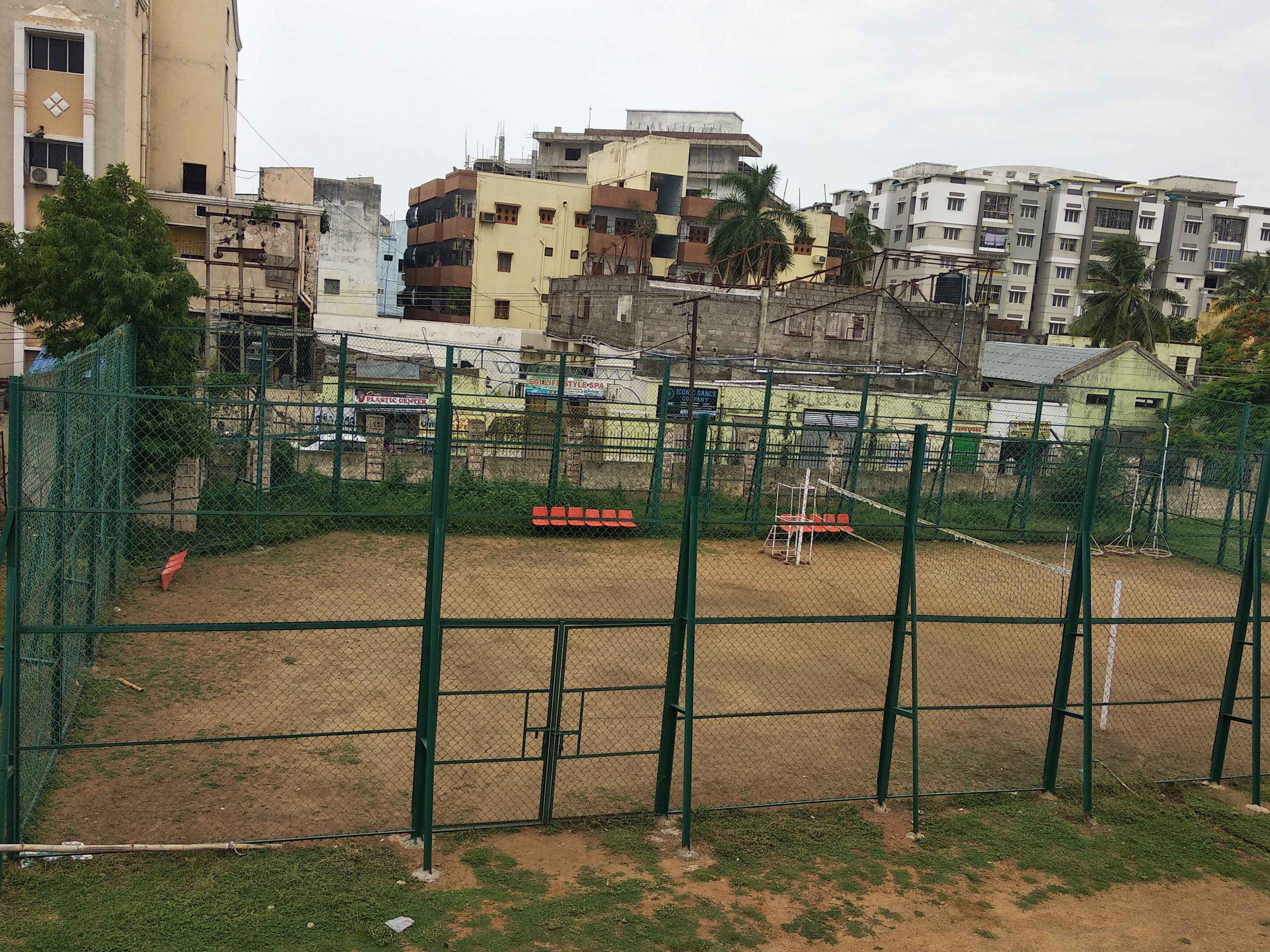 VOLLEYBALL COURT, SPORTS HOSTEL, BERHAMPUR