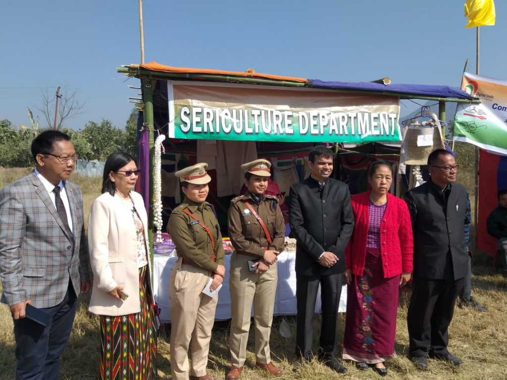 Sericulture Stall