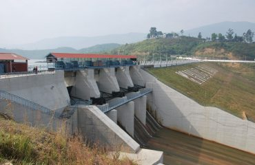 Khuga Dam Back View Photo