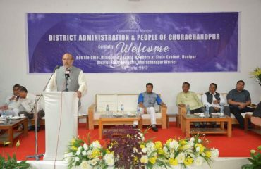 CM Speech during his visit