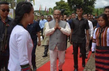 CM arrives with warm welcome