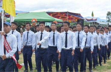 March Past by JNV Boys