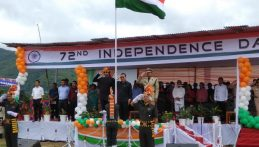 Grand Salute given by Three VIPs during independence - day