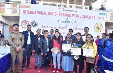 Observation of International Day with Persons with Disabilities
