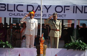 Grand Salute During Republic Day 2019