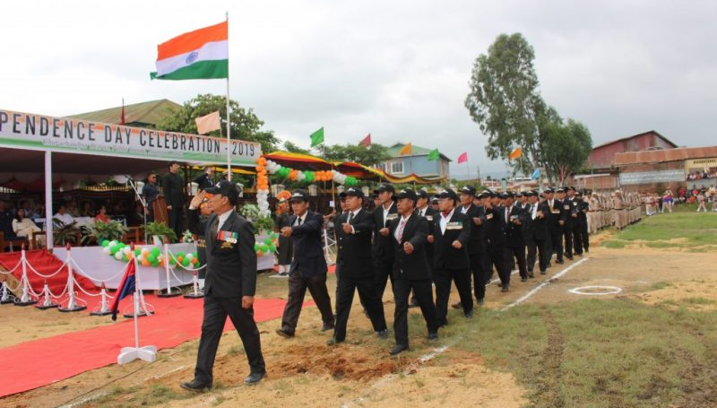 Salute by Ex servicemen
