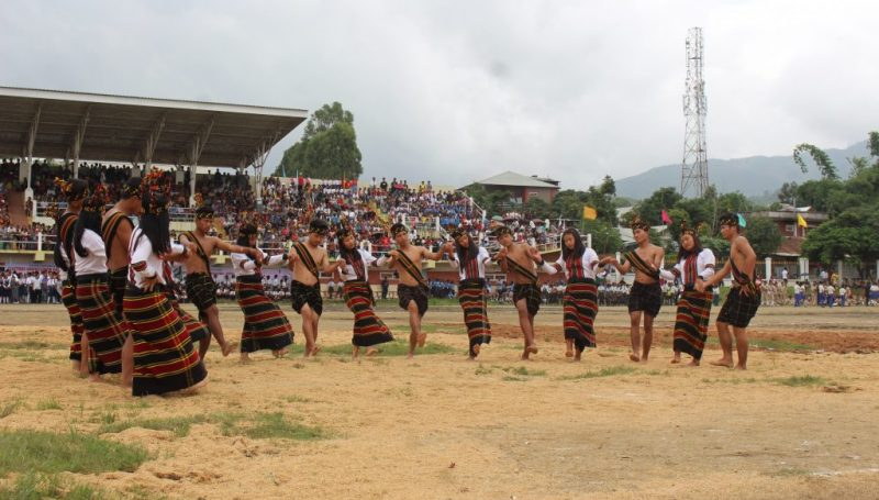 Dance by Cultural troop
