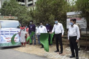 Flagging off