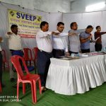 Sworn in by the CEO,Zilla Panchayat, for fair polling.
