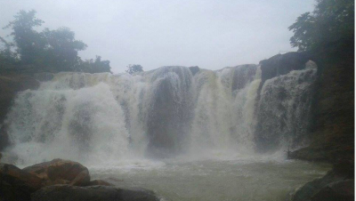 Kharkhara Dam Water Fall