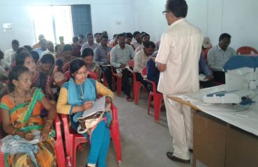 PollingParty Formation training at Manpur