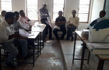 Polling Party Formation Training at Chhuikhadan
