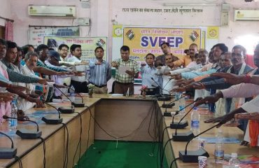 AgricultureDepartment-Taken oath under SWEEP