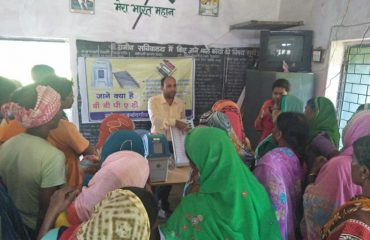Voter Awareness Program at Gram Panchayat Pendakodo- Mohla