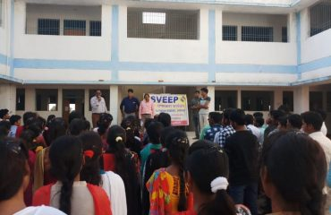Awareness campaign atSalhewara College