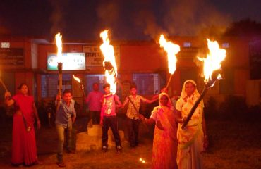 Voter awareness torch Rally