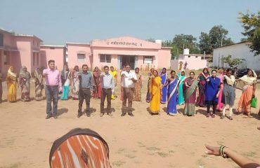 Rally under Voter awareness Campaign was organized under the banner of sweep atBortalav