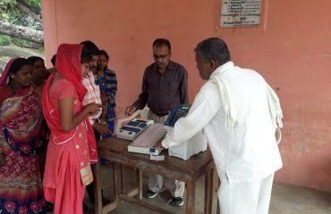Voter awareness campaign Gram Chipa Tehsil-Dongargarh 08022019