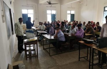 Polling Party Training-Manpur