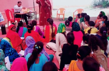 SVEEP activities in-Chowki