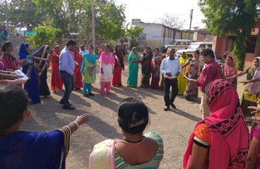 voter awarnes program and sveep event Murhipar