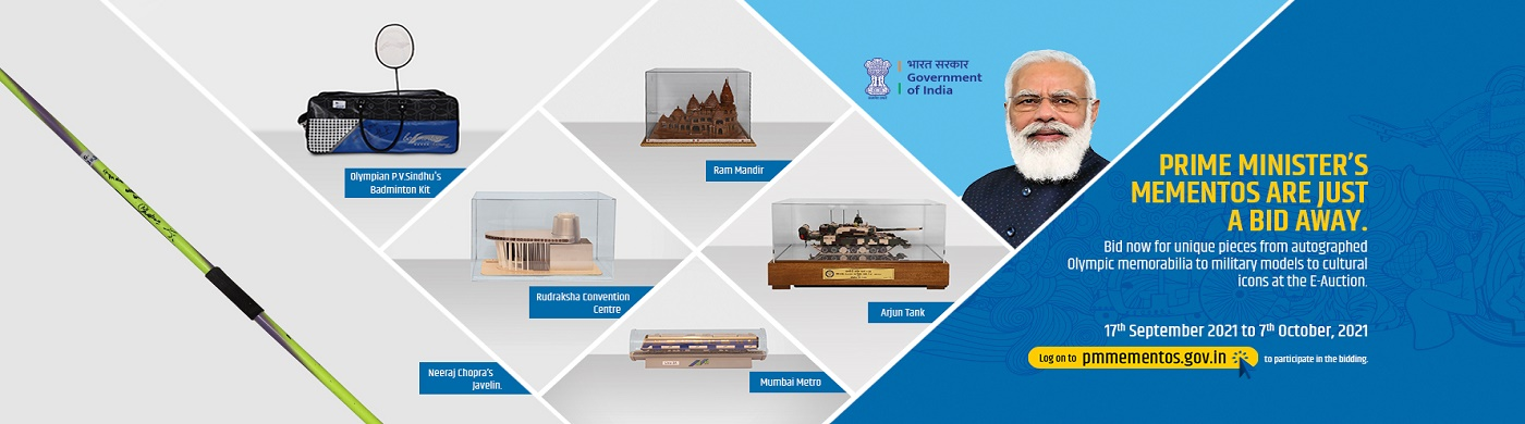 Mementos presented to Prime Minister