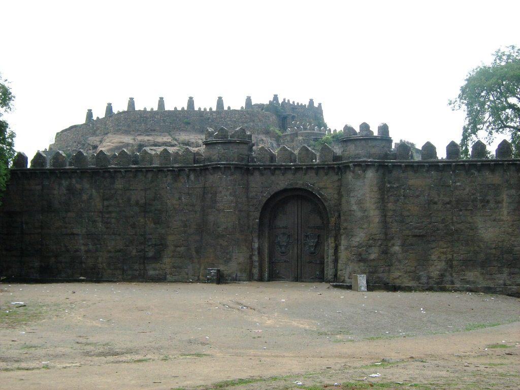 ரஞ்சன்குடி கோட்டை நுழைவு