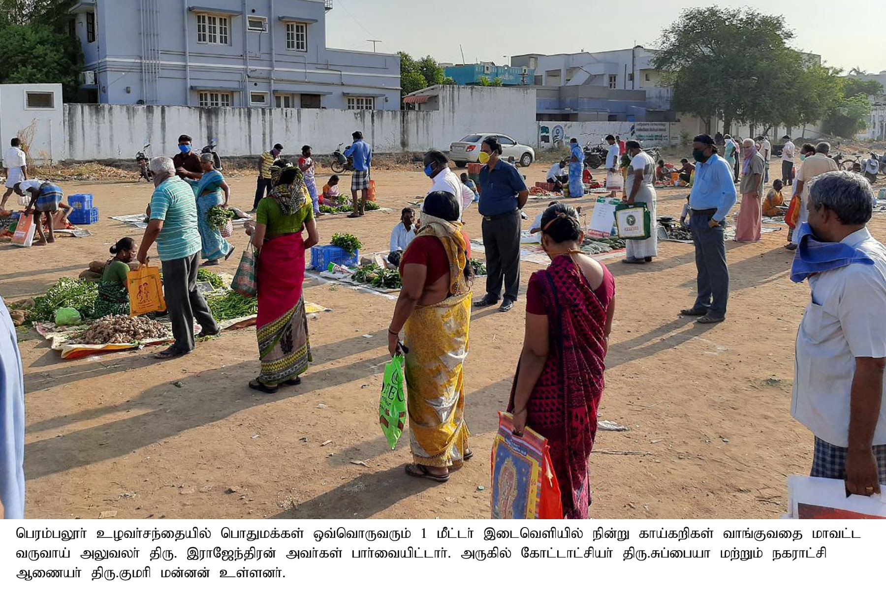 Timings announced for the shops selling Vegetables and Provisions