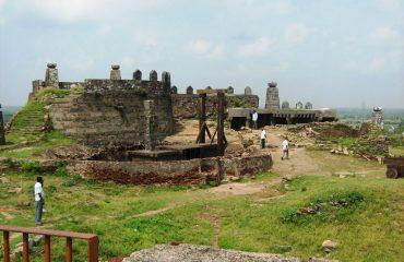 ரஞ்சன்குடி கோட்டை மற்றொரு பார்வை
