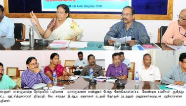 Meeting to oversee the various activities related to the counting work - 07.05.2019