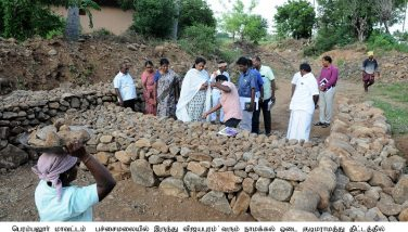 Kudimaramath works inspected by the District Collector - 05/10/2019