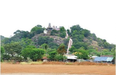 Chettikulam Temple - Hill View