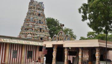 சிறுவாச்சூர் கோயில் - கோயில் கோபுரம்
